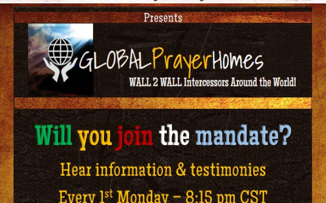 Birthing Global Prayer Homes